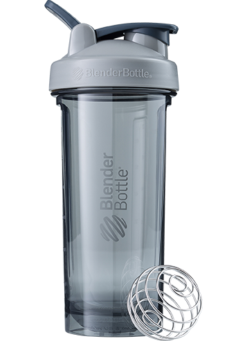 Спортивна пляшка-шейкер BlenderBottle Pro28 Tritan 820ml Grey (ORIGINAL)