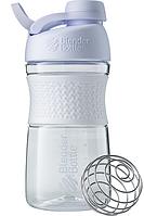 Спортивная бутылка-шейкер BlenderBottle SportMixer Twist 590ml White (ORIGINAL), фото 1