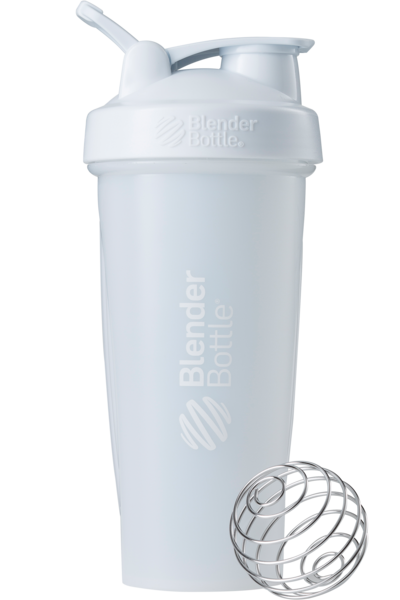 Спортивный шейкер BlenderBottle Classic Loop 820ml White (ORIGINAL)