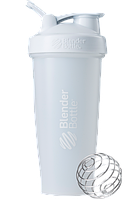 Спортивный шейкер BlenderBottle Classic Loop 820ml White (ORIGINAL), фото 1