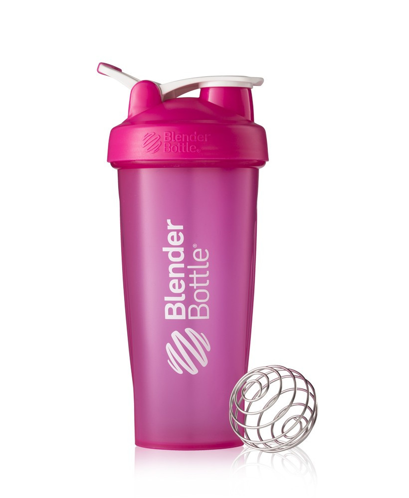 Спортивный шейкер BlenderBottle Classic Loop 820ml Pink (ORIGINAL)