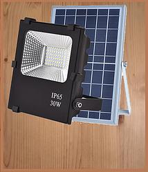 Прожекторы с солнечными панелями