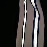 Штаны утепленные р.152,158,164 SmileTime Streak, черные с электриком, фото 3