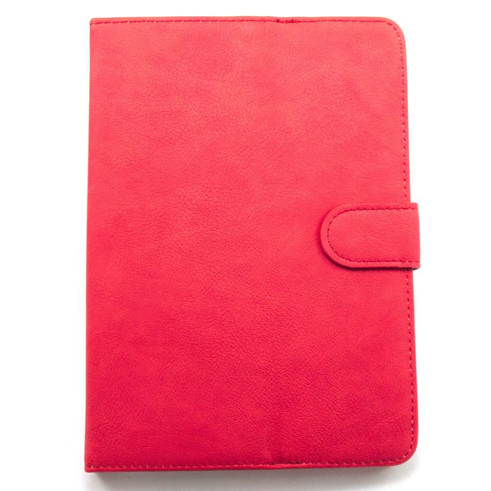 """Универсальный чехол для планшета 7-8 дюймов (7-8"""") с карманом красный"""