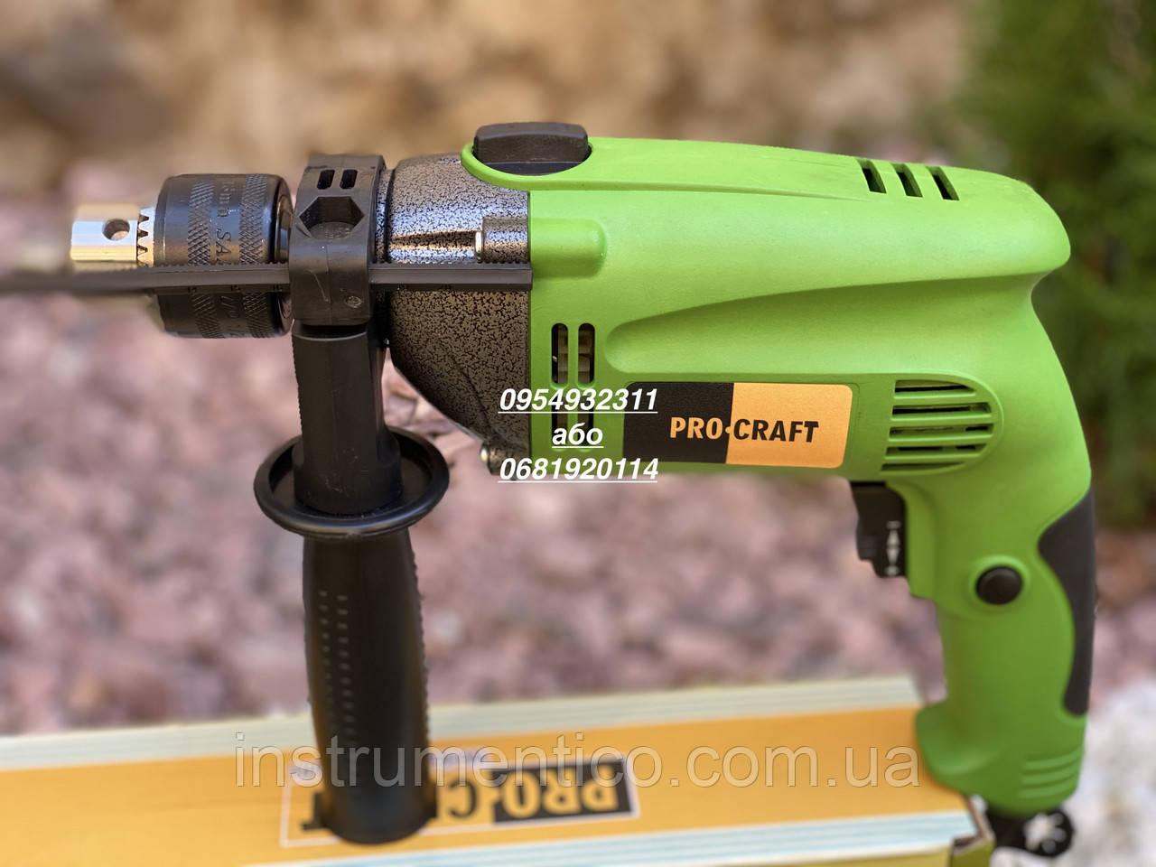 Ударная электрическая дрель Procraft PS950