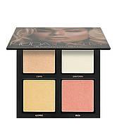 Палетка хайлайтеров Huda Beauty 3D Highlighter Palette   Pink Sands