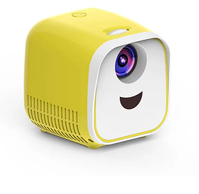 Дитячий проектор Vivibright L1 | Дитячий міні проектор кубик 1000 люменів