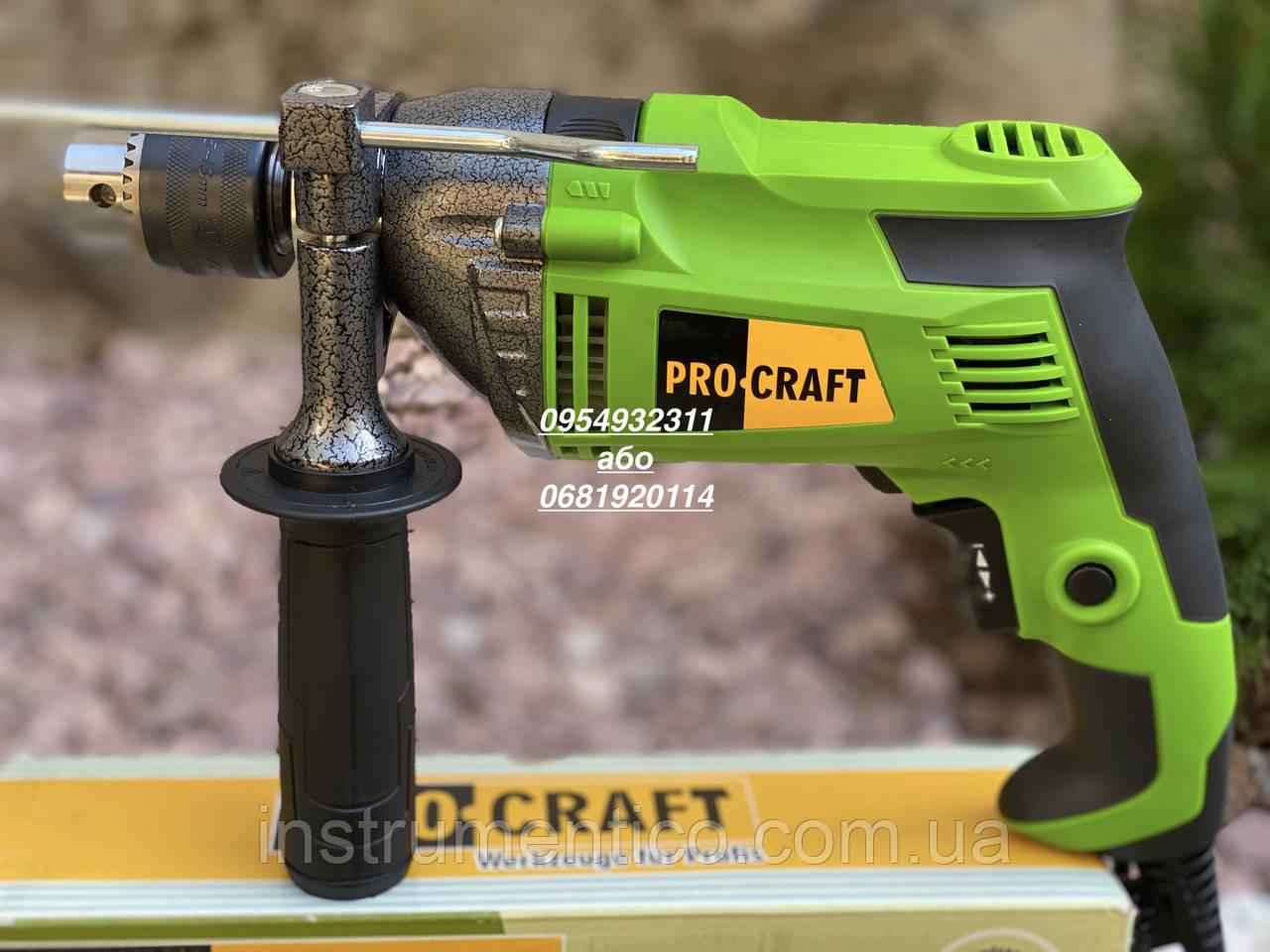 Ударная электрическая дрель Procraft PS1250