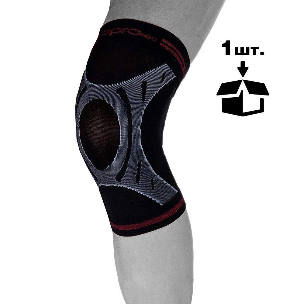 Наколенник спортивный OPROtec Knee Sleeve TEC5736-LG Черный  L