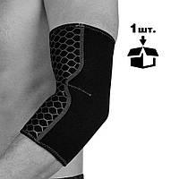 Налокотник спортивний OPROtec Elbow Support TEC5746-LG L Чорний, фото 1