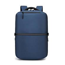 Рюкзак Ozuko 9200 городской  влагостойкий 30 л синий
