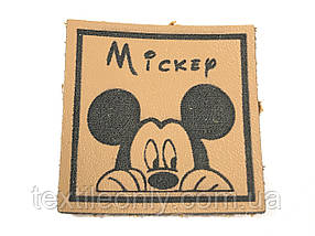 Нашивка Mickey 35х35 мм