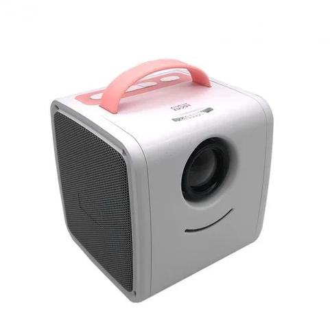 Детский мини проектор KIDS Q2 Бело-Розовый
