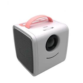 Дитячий міні проектор KIDS Q2 Біло-Рожевий
