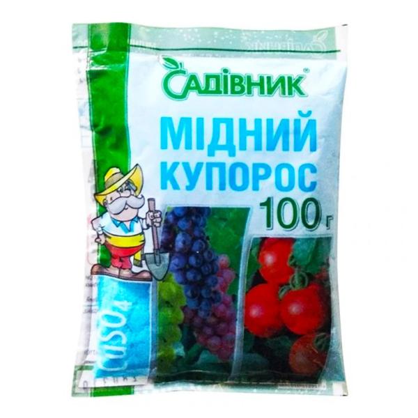 Медный купорос Садівник 100 г