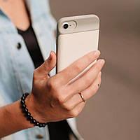 Чехол-аккумулятор для iPhone 6 / 6S / 7 / 8, 3000 мАч Белый