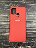 """Чехол Silicon Samsung A21S - """"Оранжевое настроение №13"""""""