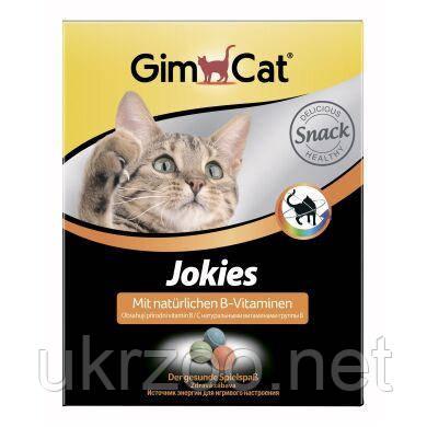 Лакомство для кошек GimCat Jokies 520 г (ассорти)