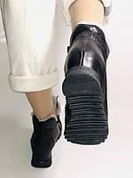 Alpino.Туреччина. Зимові черевики-кросівки на натуральному хутрі, Натуральна шкіра. 37, 38,39, фото 5