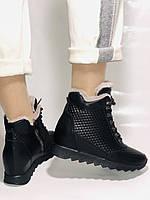 Alpino.Туреччина. Зимові черевики-кросівки на натуральному хутрі, Натуральна шкіра. 37, 38,39, фото 6