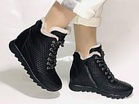 Alpino.Туреччина. Зимові черевики-кросівки на натуральному хутрі, Натуральна шкіра. 37, 38,39, фото 7