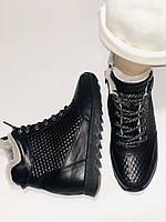 Alpino.Туреччина. Зимові черевики-кросівки на натуральному хутрі, Натуральна шкіра. 37, 38,39, фото 9