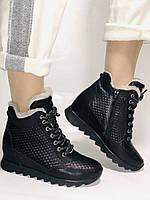 Alpino.Туреччина. Зимові черевики-кросівки на натуральному хутрі, Натуральна шкіра. 37, 38,39, фото 4
