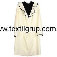 Платье ритуальное с рюшем