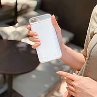 Чехол-аккумулятор для iPhone 6+ / 6S+ / 7+ / 8+ 4000 мАч Белый