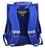 Рюкзак каркасный 1 вересня Smart PG-11 London 554525 для мальчика, фото 4