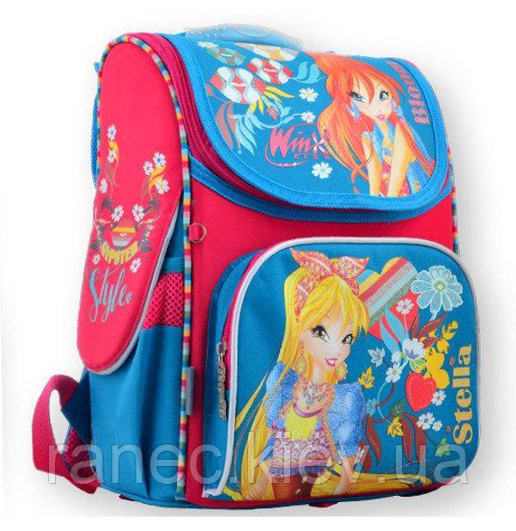Рюкзак каркасный 1 Вересня H-11 Winx mint 555188