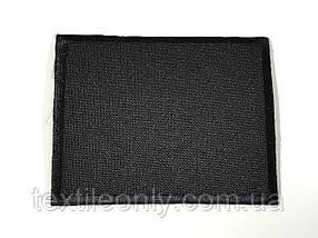 Нашивка прямокутник колір чорний 70x55 мм