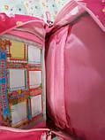 Рюкзак ортопедичний Dr. Kong Z316 малиновий М 970243 для девочки, фото 3
