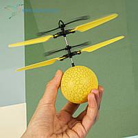 """Летающий, светящийся шар, мяч """"Flying Ball"""" JM-888 желтый, фото 2"""
