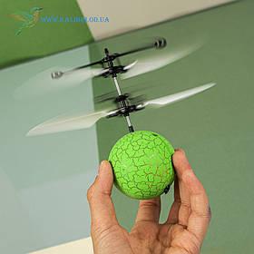 """Літаючий, світна куля, м'яч """"Flying Ball"""" JM-888 зелений"""