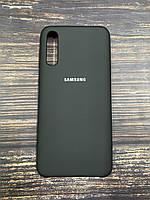 "Чохол Samsung A30S №18 ""Чорний"" Silicon Case"