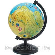 Глобус Украины 16см Украина 8380