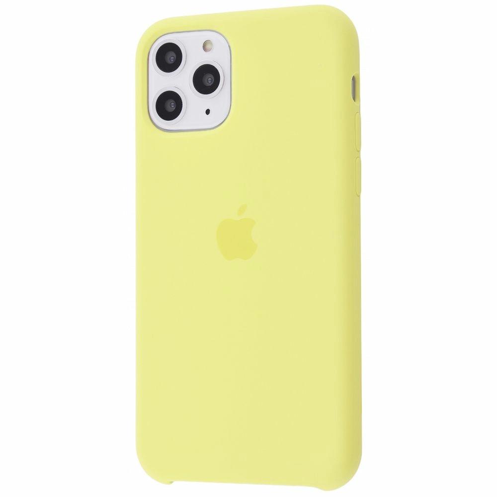 Чехол Silicone Case (Premium) для iPhone 11 Pro Mellow Yellow