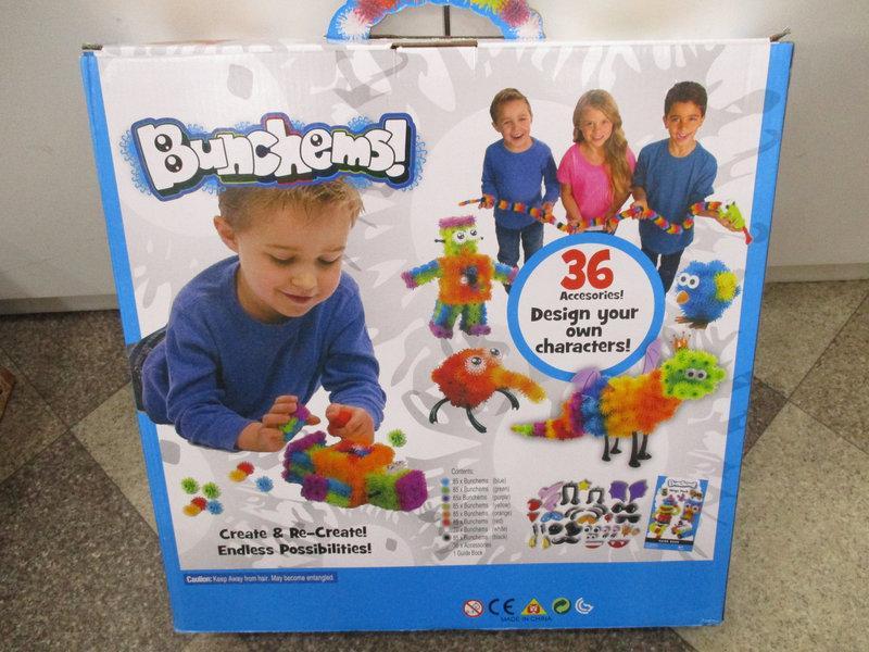 Детский конструктор-липучка Bunchems 700 деталей