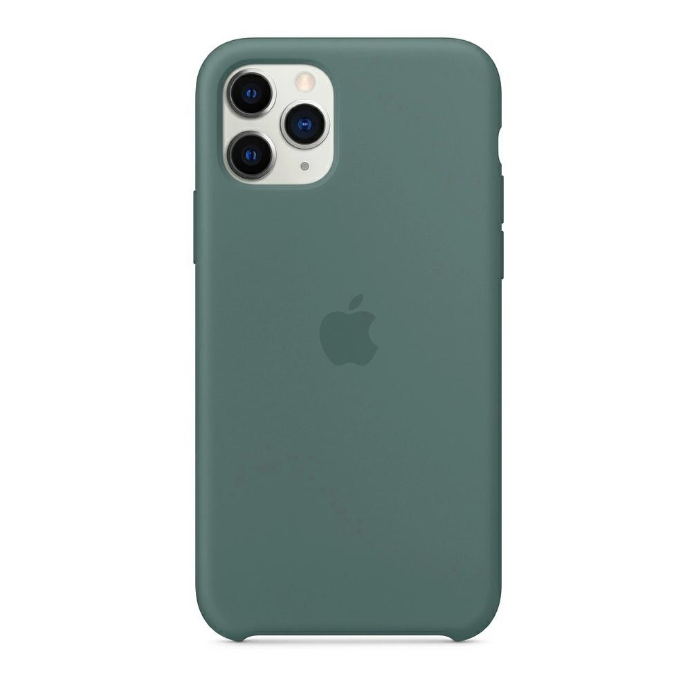 Чохол Silicone Case (Premium) для iPhone 11 Pro Pine Green