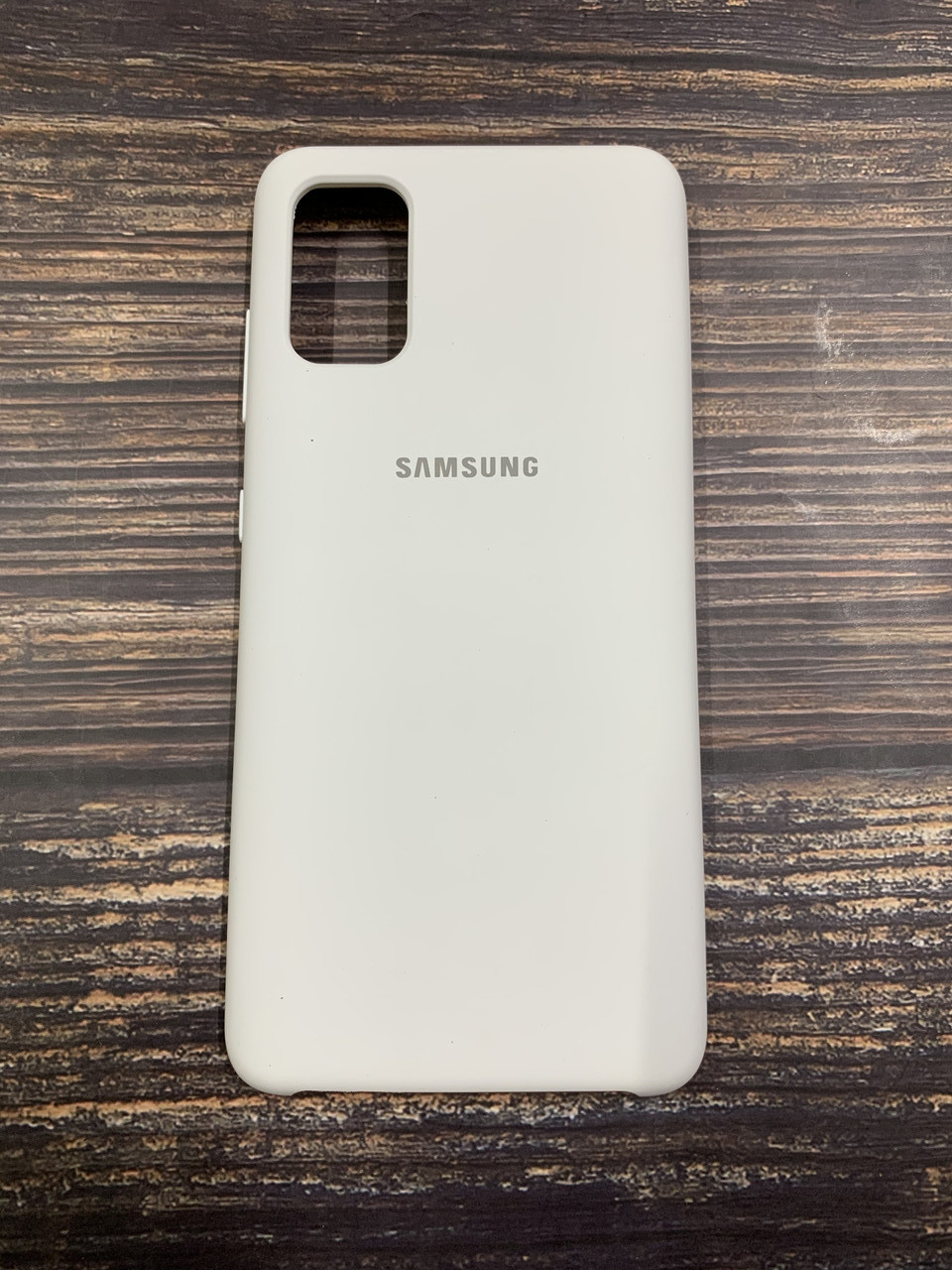 "Чехол Silicon Samsung A41 - ""Белый №9"""