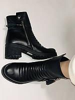 Mario Muzi.Турция,Зимние ботинки натуральный мех, натуральная кожа Р.38, фото 9