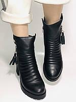 Mario Muzi.Турция,Зимние ботинки натуральный мех, натуральная кожа Р.38, фото 7