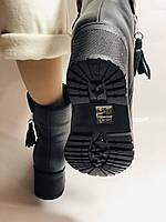 Mario Muzi.Турция,Зимние ботинки натуральный мех, натуральная кожа Р.38, фото 6