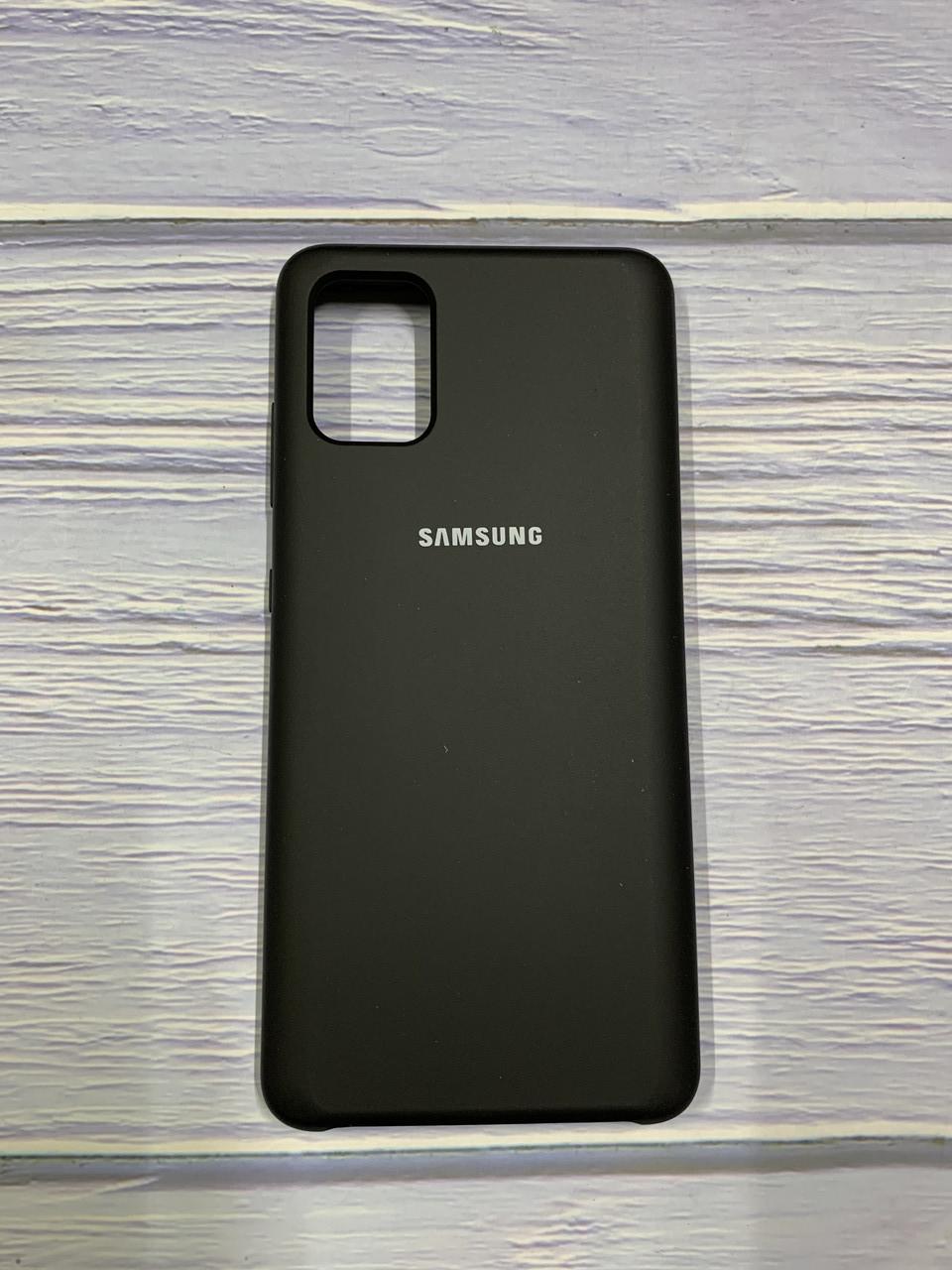 "Чохол Silicon Samsung M30 - ""Чорний №18"""