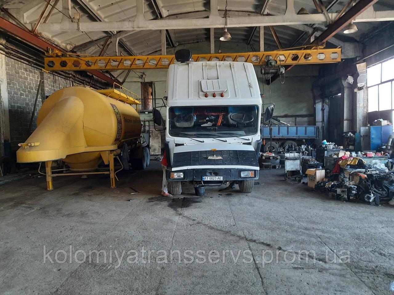 Здача в оренду площ для ремонту автотехніки