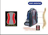 Рюкзак ортопедичний чорний Z1400010 XL Dr.Kong 970468, фото 4