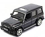 Машина Автопром Мерседес Бенц (Mercedes-Benz)- Чорний глянець, метал Модель гелендваген, фото 2