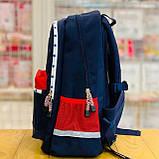 Рюкзак ортопедичний Z1200104 темно-синій M Dr.Kong 970514, фото 6
