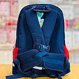 Рюкзак ортопедичний Z1200104 темно-синій M Dr.Kong 970514, фото 10